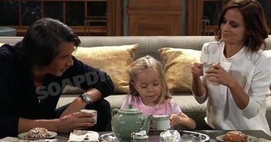 General Hospital Spoilers: Hamilton Finn (Michael Easton) - Violet Finn (Jophielle Love) - Hayden Barnes (Rebecca Budig)