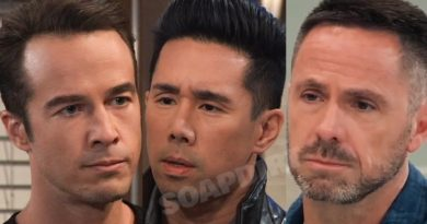 General Hospital Spoilers: Lucas Jones (Ryan Carnes) - Brad Cooper (Parry Shen) - Julian Jerome (William deVry)