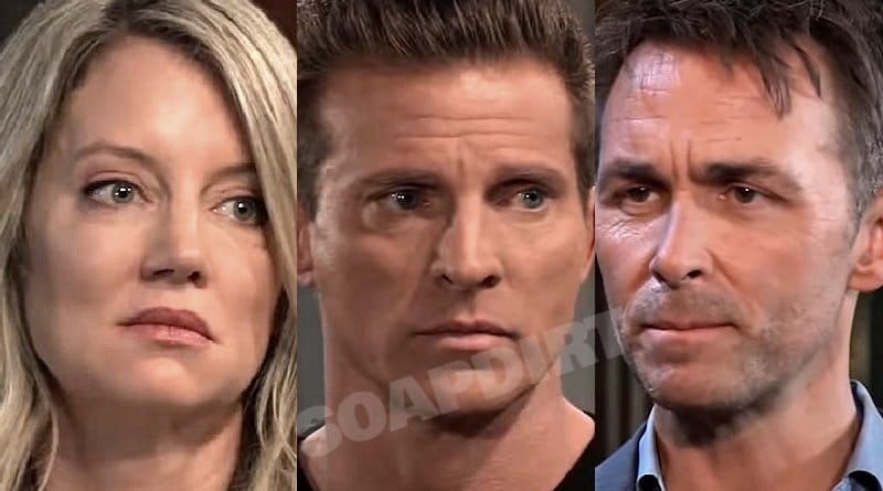 General Hospital Spoilers: Nina Reeves (Cynthia Watros) Jason Morgan (Steve Burton) - Valentin Cassadine (James Patrick Stuart)