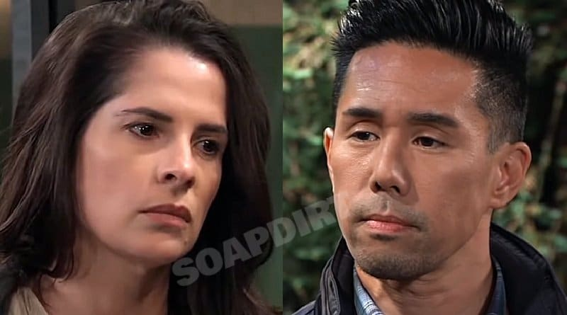 General Hospital Spoilers: Sam McCall (Kelly Monaco) - Brad Cooper (Parry Shen)