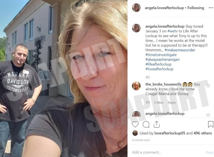 Love After Lockup: Angela - Tony - Instagram