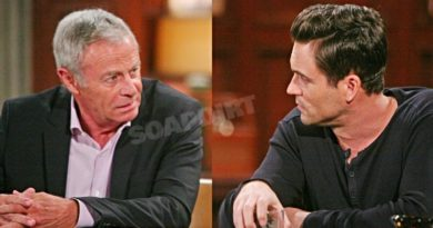 Young and the Restless Spoilers: Colin Atkinson (Tristan Rogers) - Cane Ashby (Daniel Goddard)