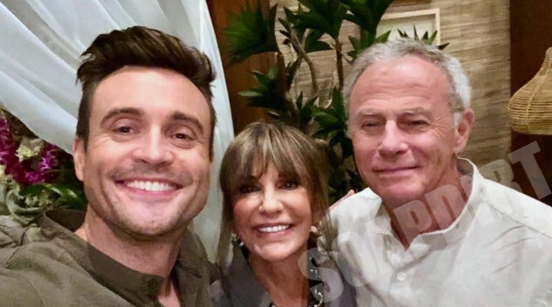 Young and the Restless: Colin Atkinson (Tristan Rogers) - Cane Ashby (Daniel Goddard) - Jill Abbott (Jess Walton)