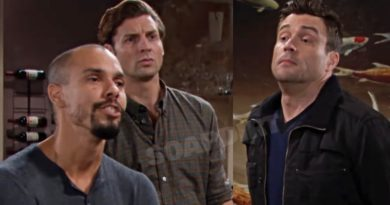 Young and the Restless Spoilers: Devon Hamilton (Bryton James) - Chance Chancellor- (Donny Boaz) - Cane Ashby (Daniel Goddard)