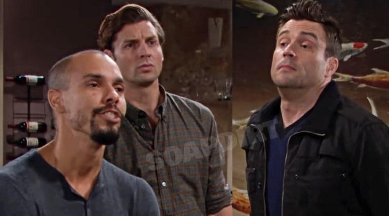 Young and the Restless Spoilers: Devon Hamilton (Bryton James) - Chance Chancellor- (Donny Boaz) - Cane Ashby (Daniel Goddard)
