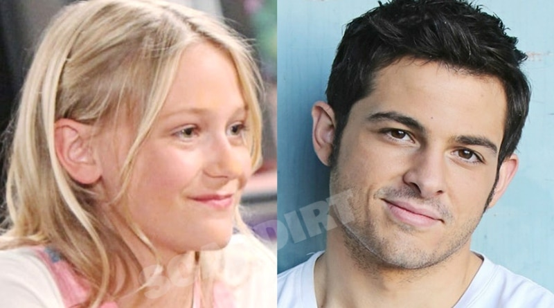 Young and the Restless Faith Newman (Alyvia Alyn Lind) - Fenmore Baldwin (Zach Tinker)