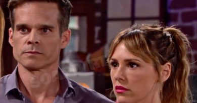 Young and the Restless Spoilers: Kevin Fisher (Greg Rikaart) - Chloe Mitchell (Elizabeth Hendrickson)
