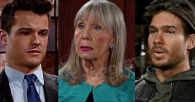 Young and the Restless Spoilers: Kyle Abbott (Michael Mealor) - Dina mergeron (Marla Adams) - Theo Vanderway (Tyler Johnson)