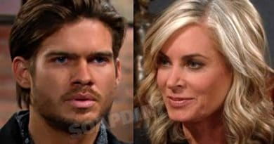 Young and the Restless Spoilers: Theo Vanderway (Tyler Johnson) - Ashley Abbott (Eileen Davidson)