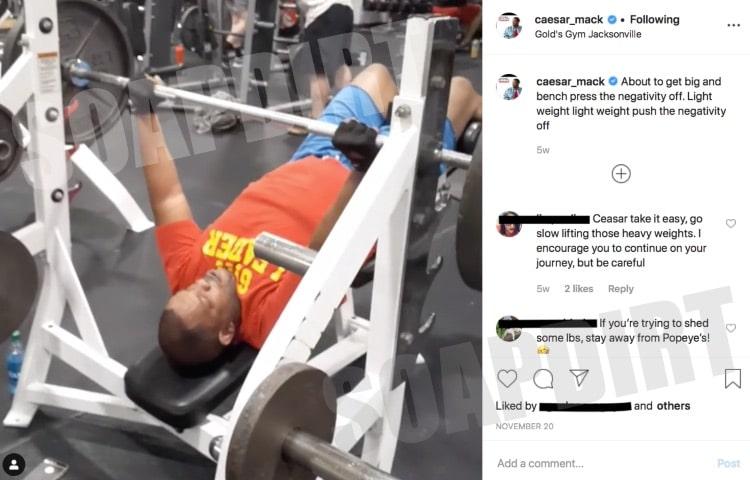 90 Day Fiance: Caesar Mack - Instagram