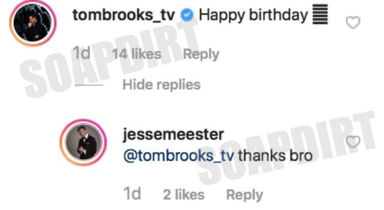 90 Day Fiance: Jesse Meester - Tom Brooks - Instagram