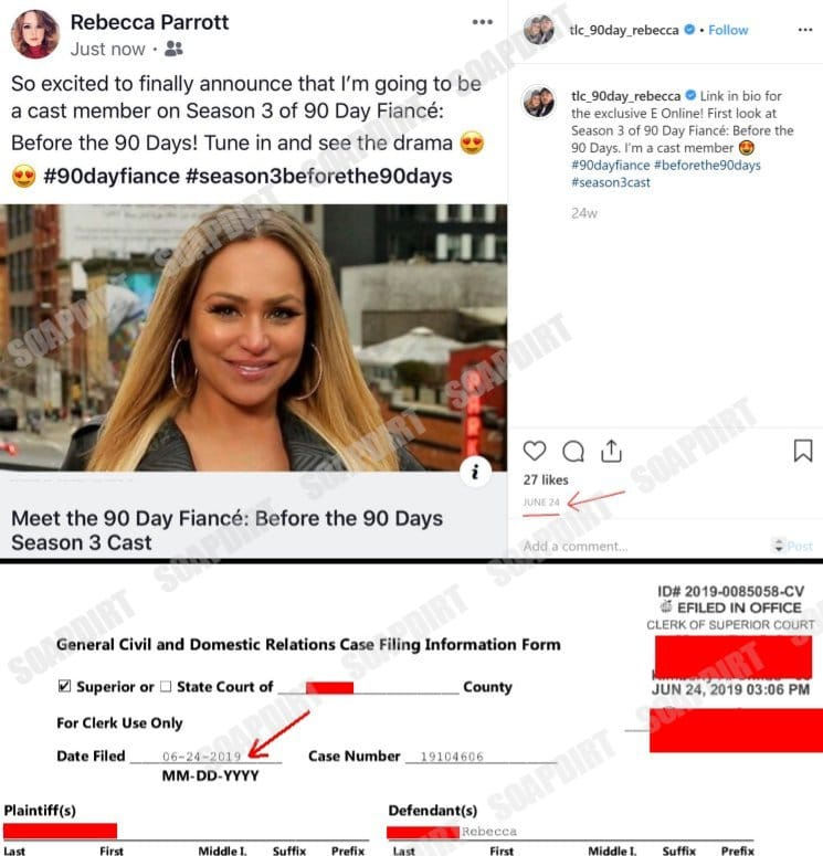 90 Day Fiance - Rebecca Parrot - Before the 90 Days