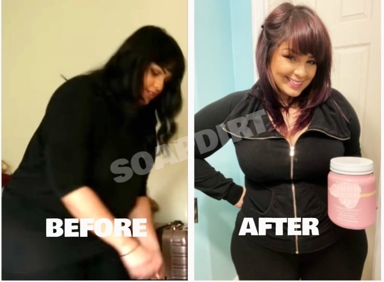 90 Day Fiance: Tiffany Franco Weight Loss