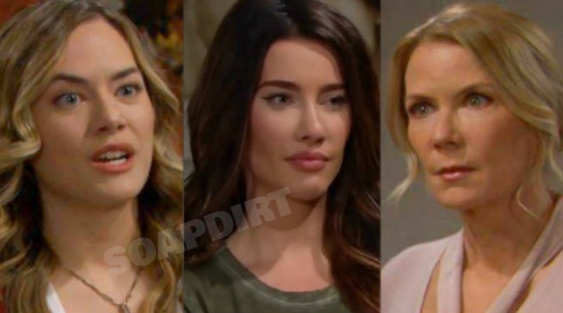 Bold and the Beautiful Spoilers: Hope Logan (Annika Noelle) - Steffy Forrester (Jacqueline MacInnes Wood) - Brooke Logan (Katherine Kelly Lang)