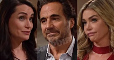 Bold and the Beautiful Spoilers: Quinn Fuller (Rena Sofer) - Ridge Forrester (Thorsten Kaye) - Shauna Fulton (Denise Richards)