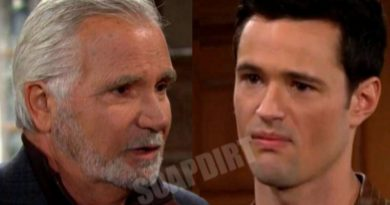 Bold and the Beautiful Spoilers: Thomas Forrester (Matthew Atkinson) - Eric Forrester (John McCook)