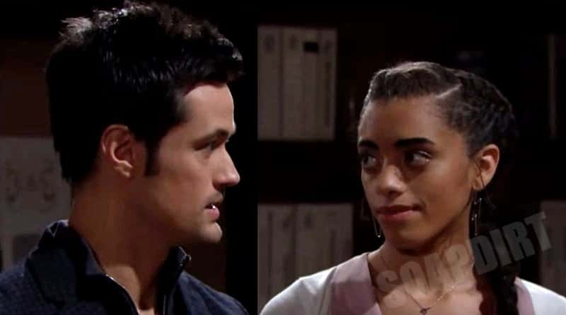 Bold and the Beautiful Spoilers: Thomas Forrester (Matthew Atkinson) - Zoe Buckingham (Kiara Barnes)