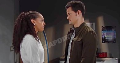 Bold and the Beautiful Spoilers: Zoe Buckingham (Kiara Barnes) - Thomas Forrester (Matthew Atkinson)