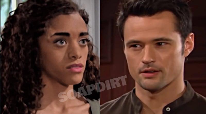 Bold and the Beautiful Spoilers: Zoe Buckingham (Kiara Barnes) - Thomas Forrester (Matthew Atkinson)