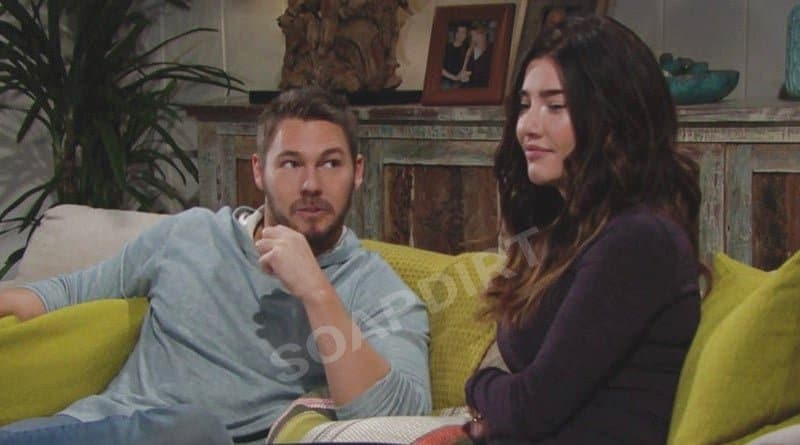 Bold and the Beautiful Spoilers: Liam Spencer (Scott Clifton) - Steffy Forrester (Jacqueline MacInnes Wood)