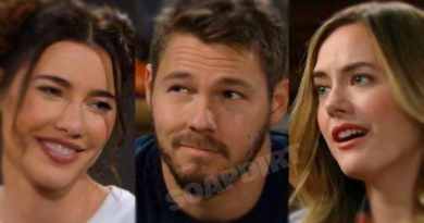 Bold and the Beautiful: Steffy Forrester (JJacqueline MacInnes Wood) - Liam Spencer (Scott Clifton) - Hope Logan (Annika Noelle)