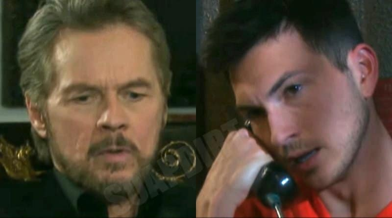 Days of Our Lives Spoilers: Stefano DiMera - Steve Johnson (Stephen Nichols) - Ben Weston (Robert Scott Wilson)