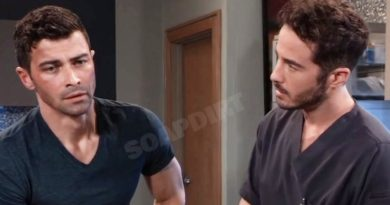 General Hospital Comings And Goings: Griffin Munro (Matt Cohen) Lucas Jones (Ryan Carnes)