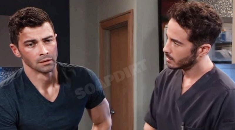 General Hospital Comings And Goings: Griffin Munro (Matt Cohen) Lucas Jones (Ryan Carnes)