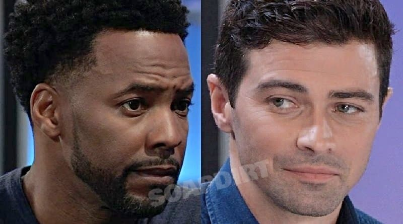 General Hospital Spoilers: Andre Maddox (Anthony Montgomery) Griffin Munro (Matt Cohen)