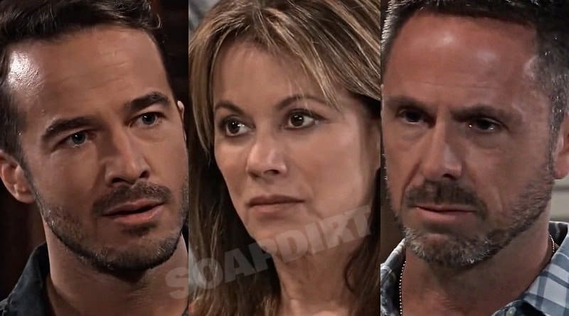 General Hospital Spoilers: Lucas Jones (Ryan Carnes) Alexis Davis (Nancy Lee Grahn) - Julian Jerome (William deVry)