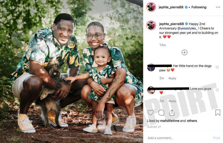 Married at First Sight: Jephte Pierre - Shawniece Jackson - Laura Denise Pierre - Instagram