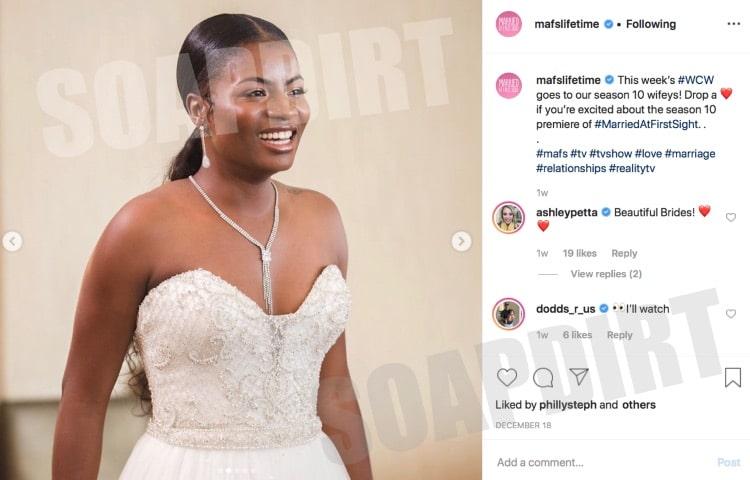 Married at First Sight: Meka Jones - Instagram