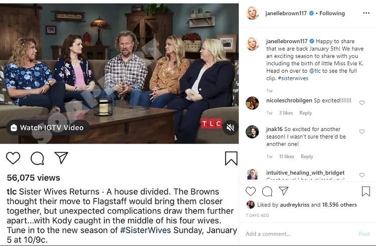 Sister Wives: Janelle Brown - Kody Brown - Meri Brown - Christine Brown - Robyn Brown