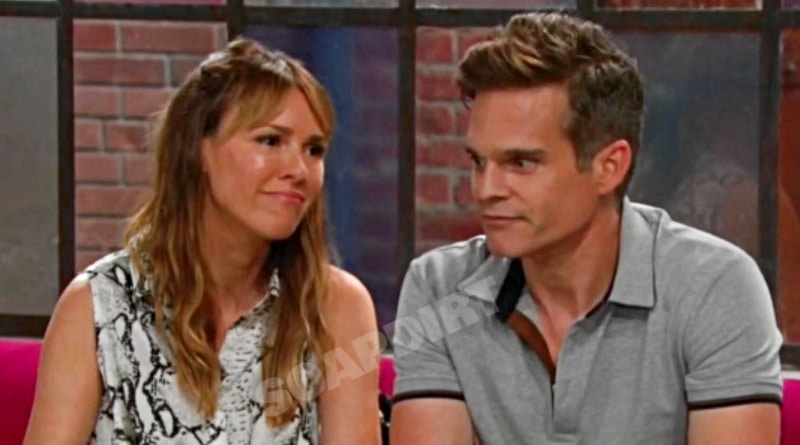 Young and the Restless Spoilers: Chloe Mitchell (Elizabeth Hendrickson) - Kevin Fisher (Greg Rikaart)