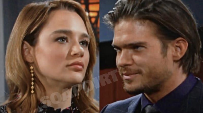 Young and the Restless Spoilers: Summer Newman (Hunter King) - Theo Vanderway (Tyler Johnson)
