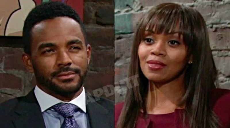 Young and the Restless Spoilers: Amanda Sinclair (Mishael Morgan) - Nate Hastings (Sean Dominic)