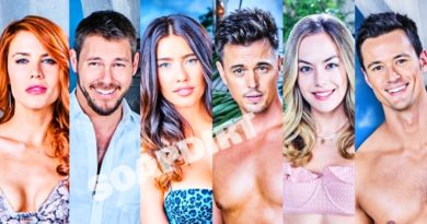 Bold and the Beautiful Spoilers: Sally Spectra (Courtney Hope) - Wyatt Spencer (Darin Brooks) - Steffy Forrester (Jacqueline MacInnes Wood)