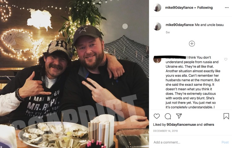 90 Day Fiance: Beau Lawrence - Mike Youngquist - Instagram
