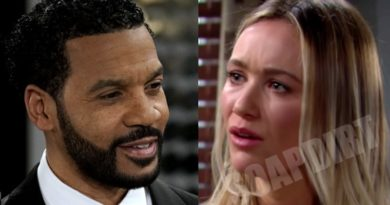 Bold and the Beautiful Comings & Goings: Justin Barber (Aaron D Spears) - Flo Fulton (Katrina Bowden)