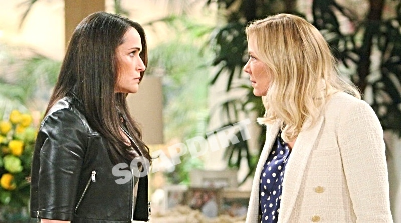 Bold and the Beautiful Spoilers: Quinn Fuller (Rena Sofer) - Brooke Logan (Katherine Kelly Lang)