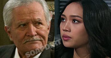 Days of our Lives Spoilers: Victor Kiriakis (John Aniston) - Haley Chen (Thia Megia)