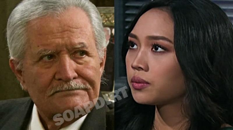 Days of our Lives Spoilers: Victor Kiriakis (John Aniston) - Haley Chen (Thia Megia)