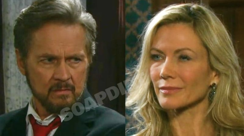 Days of our Lives Spoilers: Stefano DiMera (Stephen Nichols) - Kristen DiMera (Stacy Haiduk)