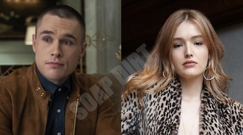 Dynasty: Adam Carrington (Sam Underwood) - Kirby Anders (Maddison Brown)