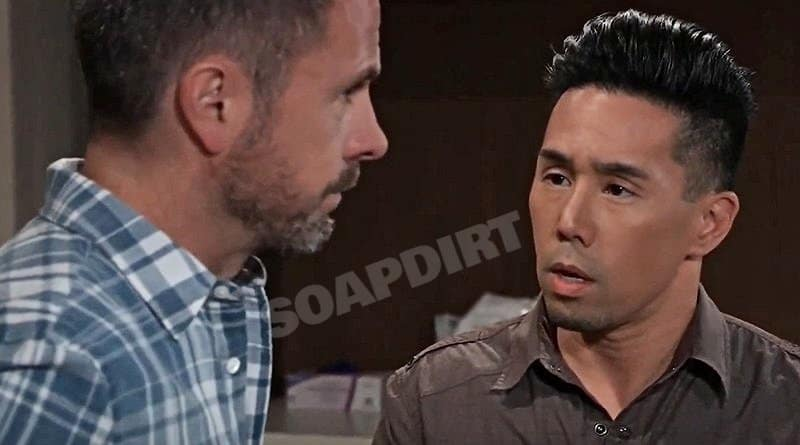 General Hospital Spoilers: Julian Jerome (William deVry) - Brad Cooper (Parry Shen)