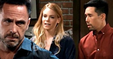 General Hospital Spoilers: Julian Jerome (William deVry) - Nelle Hayes (Chloe Lanier) - Brad Cooper (Parry Shen)
