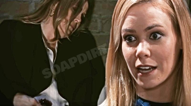 General Hospital Spoilers: Laura Spencer (Genie Francis) - Nelle Hayes (Chloe Lanier)