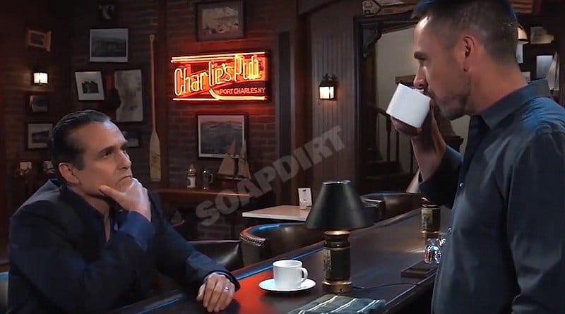 General Hospital Spoilers: Sonny Corinthos (Maurice Benard) Julian Jerome (William deVry)