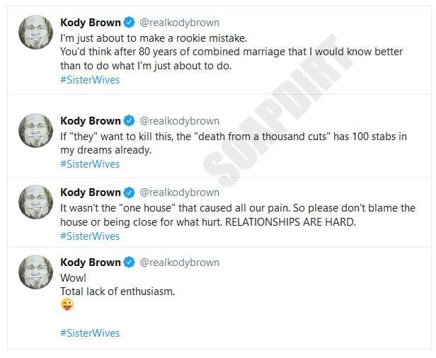 Kody Brown - Twitter