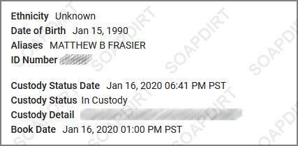 Love After Lockup: Matt Frasier - Custody - 2020-01-16